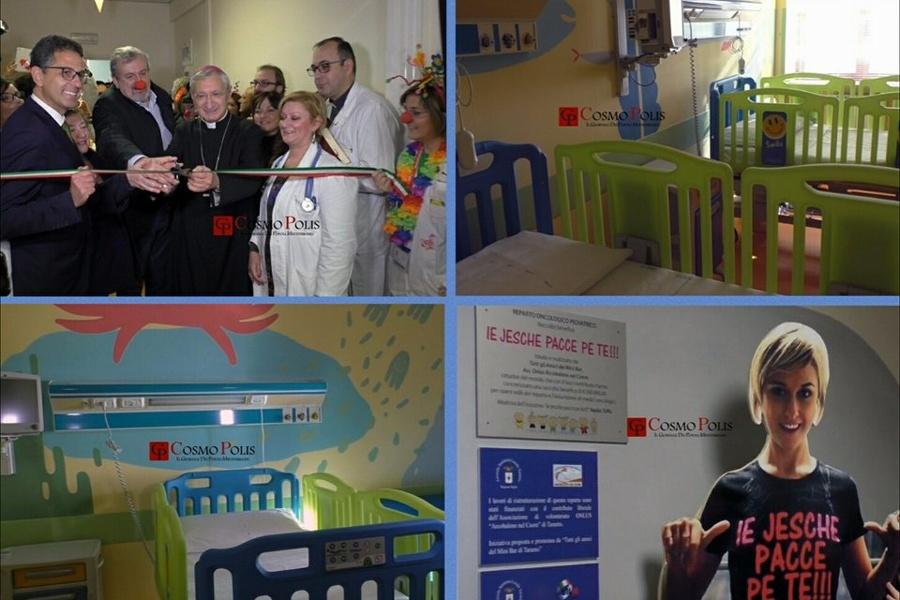 """Taranto, Oncoematologia pediatrica: """"Necessario colmare le carenze"""""""