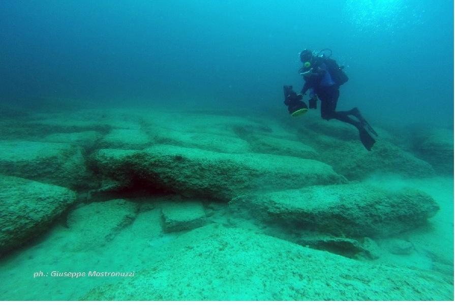 Struttura sommersa San Pietro in Bevagna: ricostruisce dinamica del livello del mare