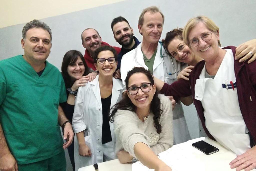 foto di repertorio team reparto Malattie Infettive
