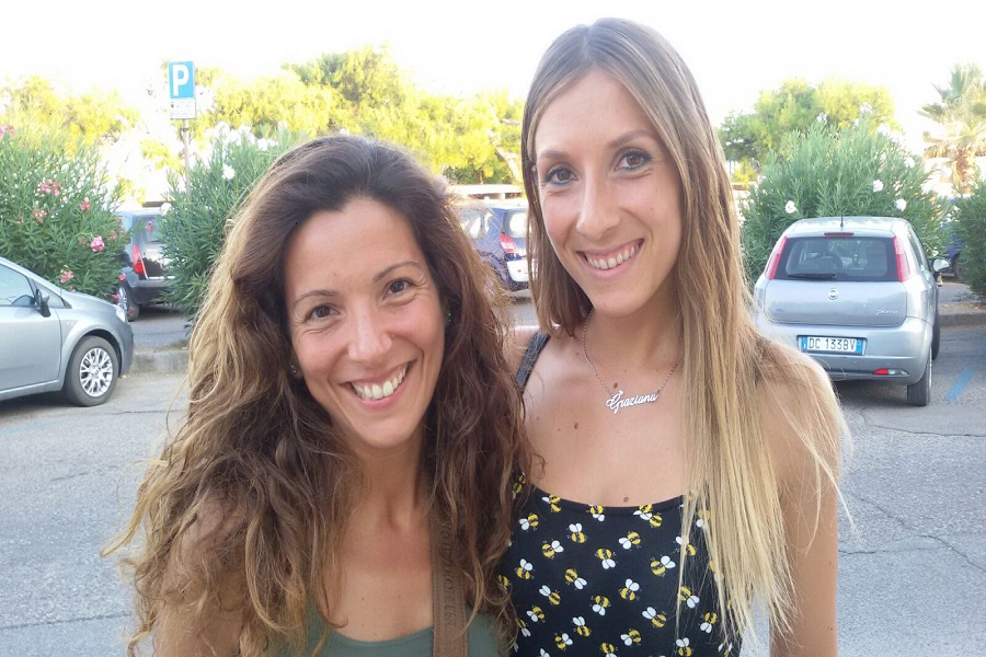 Graziana e Marina, il sole e la luna