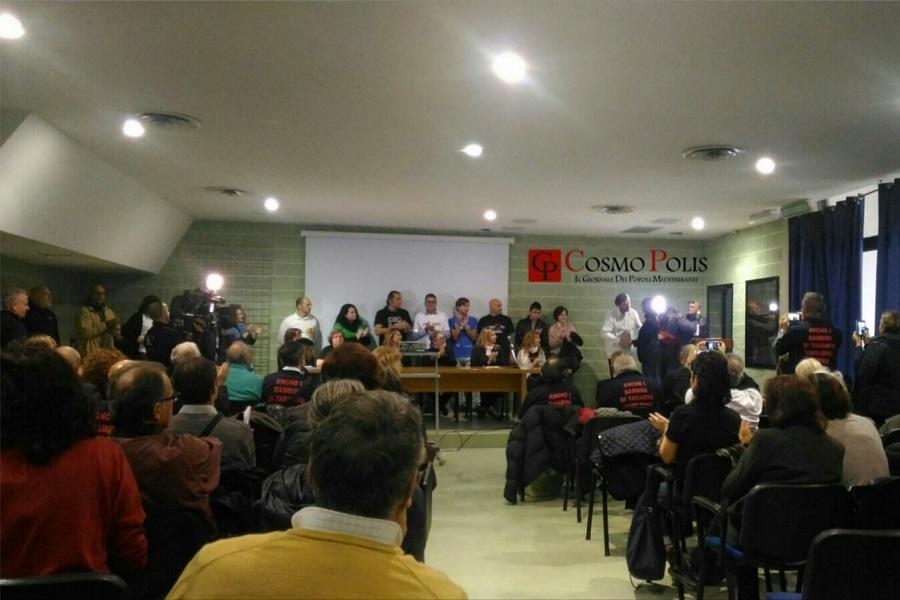 """Taranto """"capitale""""  della lotta all'inquinamento"""