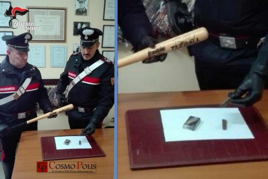 Spaccio a Lizzano: un arresto