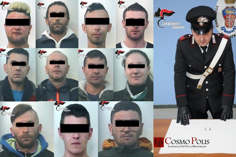 L'impresa della droga: 11 arresti