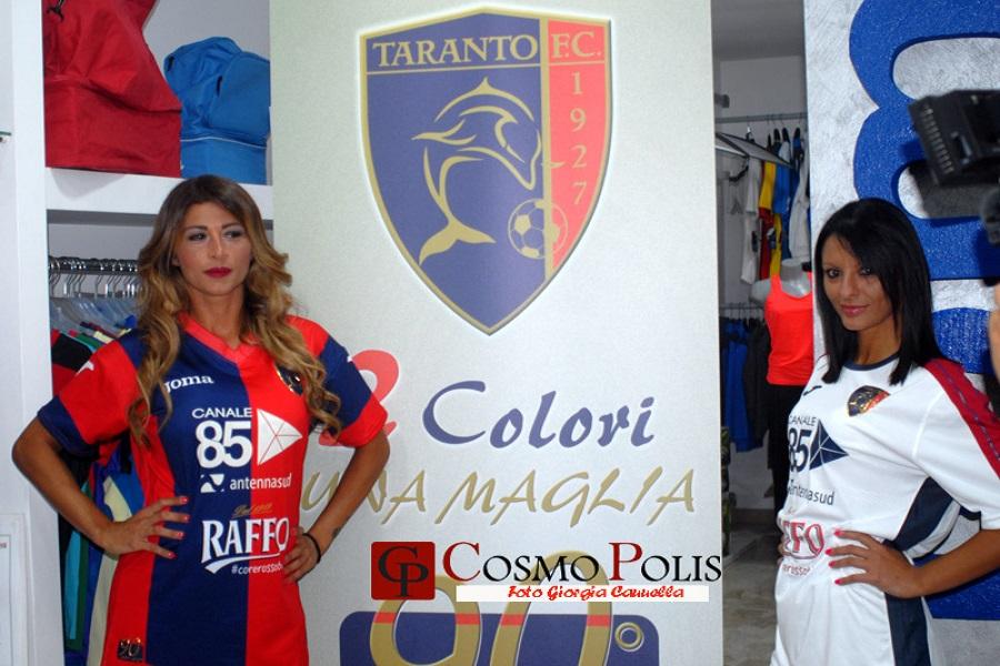 Taranto, cambiano i numeri sulle maglie