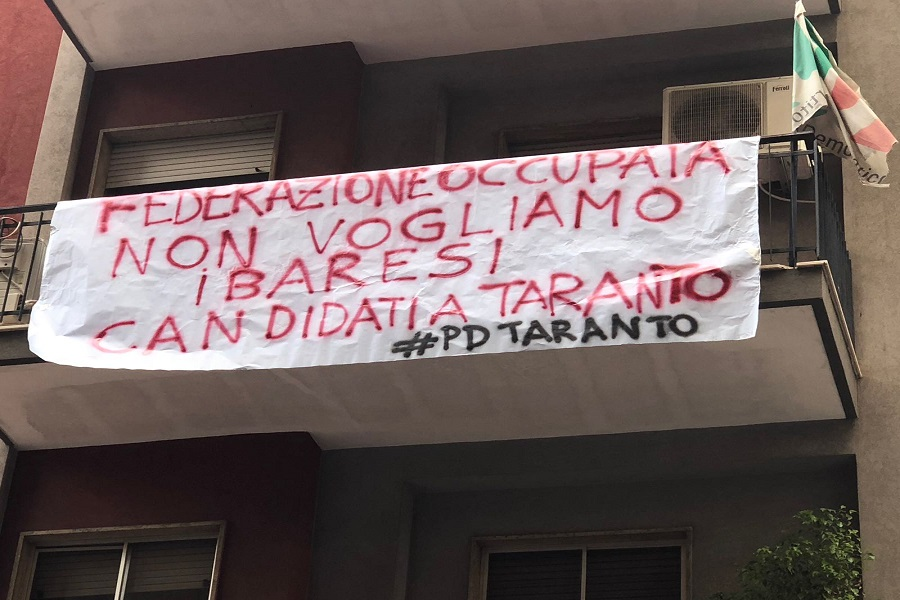 Emiliano finisce di rompere definitivamente il Pd di Taranto