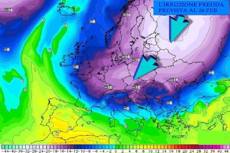 Il freddo della Siberia e poi quello del Polo