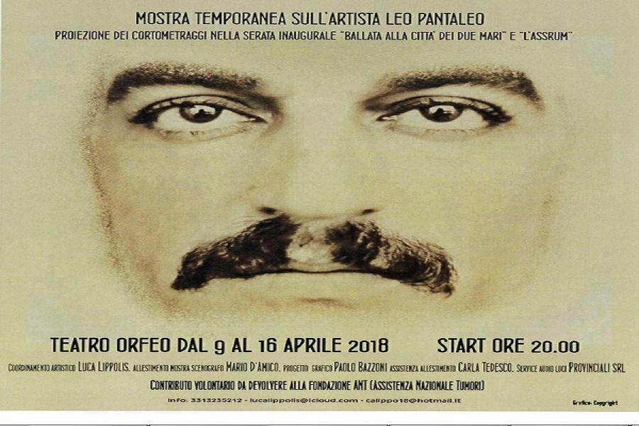 """Al Teatro Orfeo mostra di Leo Pantaleo, """"l'artigiano dello spettacolo"""""""