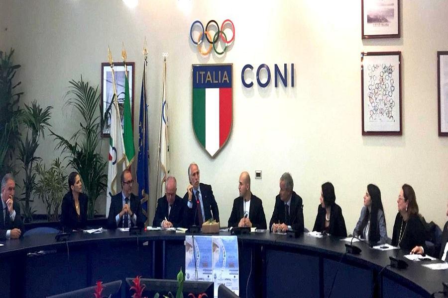 L'atleta di Taranto, ambasciatore dello sport