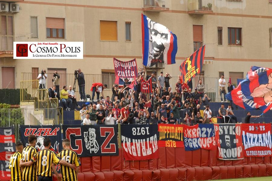 Taranto, finale con divieto