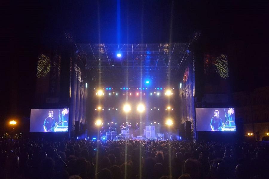 I Placebo a Taranto: spettacolo sulla Rotonda