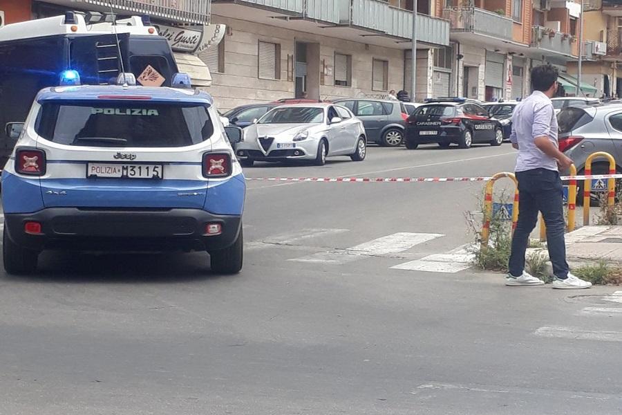 Valigetta sospetta in via Umbria