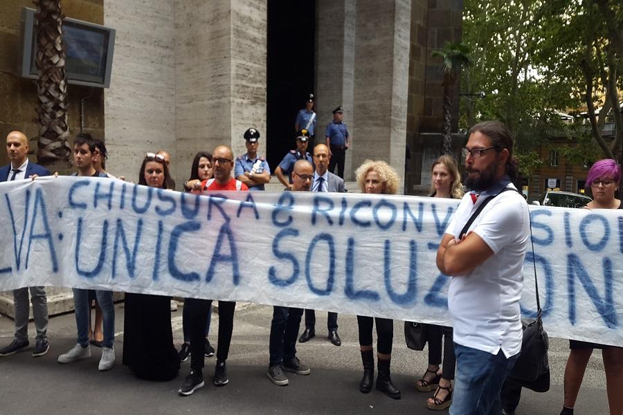 """Giustizia per Taranto a Di Maio: """"Chiudere la fabbrica e bonificare"""""""