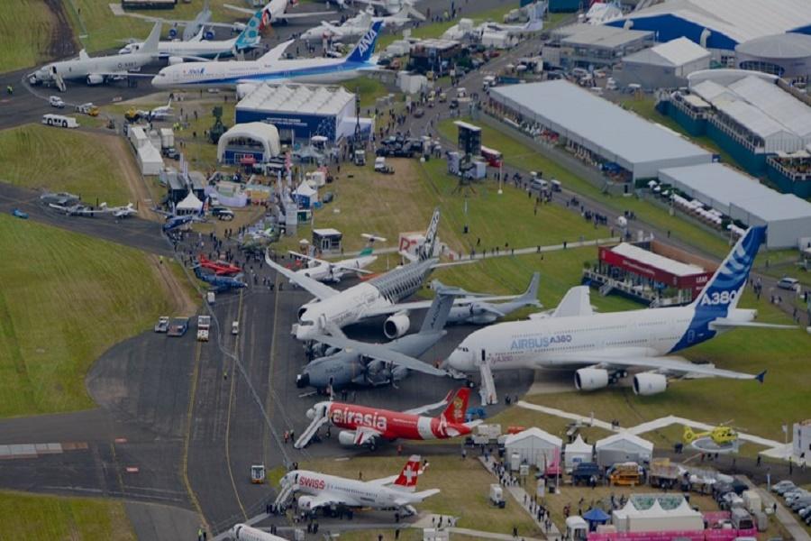 Eccellenze aerospaziali pugliesi presenti all'Air Show in Gran Bretagna