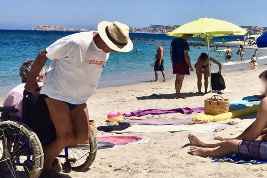 Accesso spiagge diversamente abili: ok legge regionale