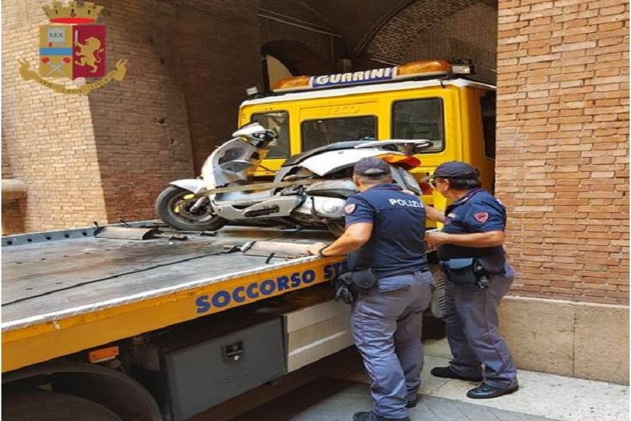 Sequestro del mezzo e sanzioni per 6.000 euro