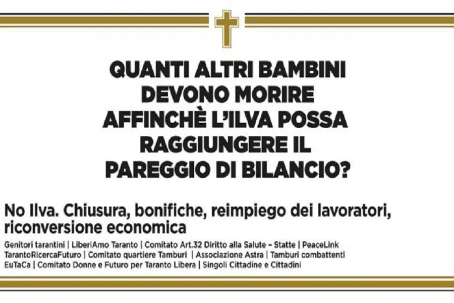 Peacelink scrive al Governo: Taranto in pericolo come il ponte Morandi di Genova (ma con l'immunità penale)