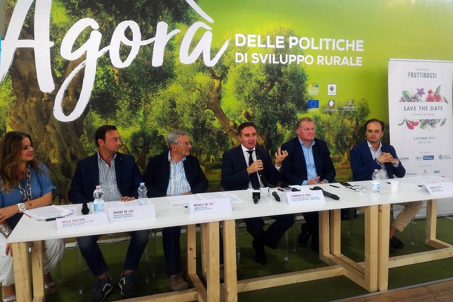 Masseria Fruttirossi: apre i battenti il 2 ottobre