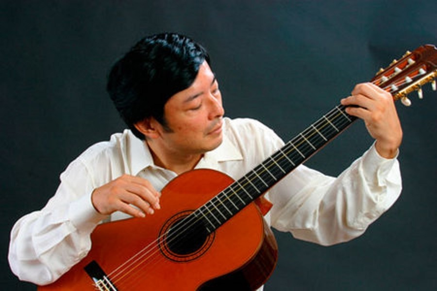 Il chitarrista Yamashita a Taranto in esclusiva per il Sud Italia