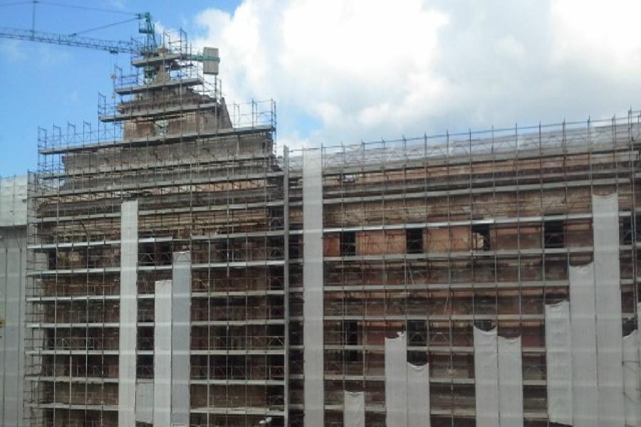 Taranto, Palazzo degli uffici: riavviato cantiere da oltre 2 mln di euro