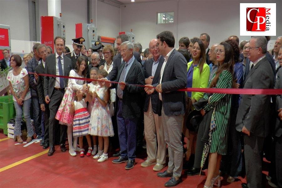 Inaugurato lo stabilimento di Masseria Fruttirossi
