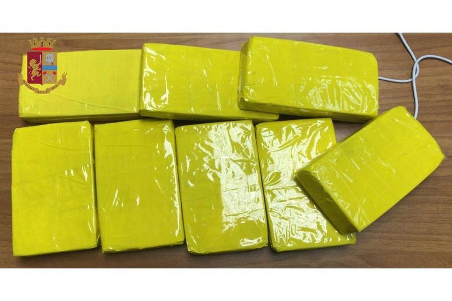 Quattro chili di eroina in auto: arrestato 32 enne