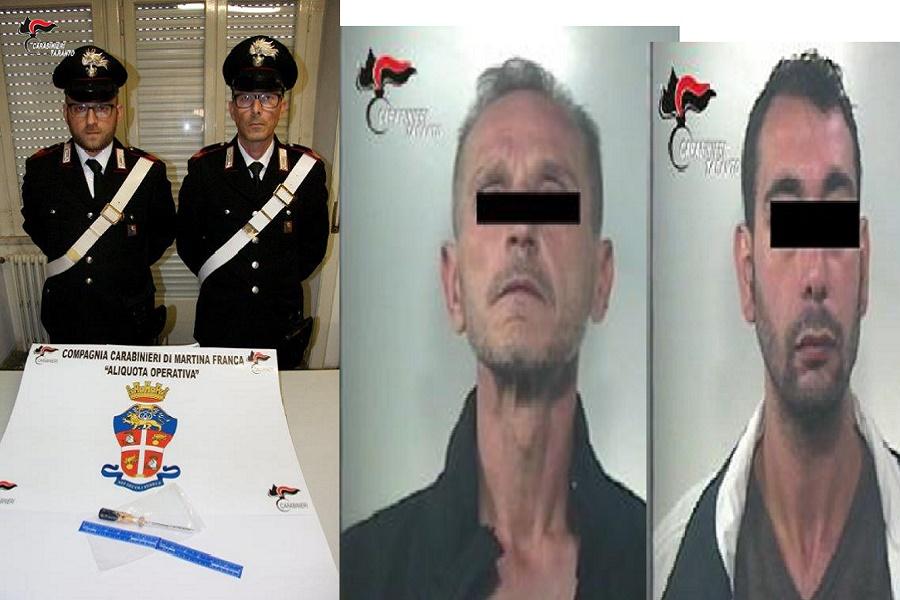 Martina Franca: tentano di rubare un'auto, arrestati due tarantini