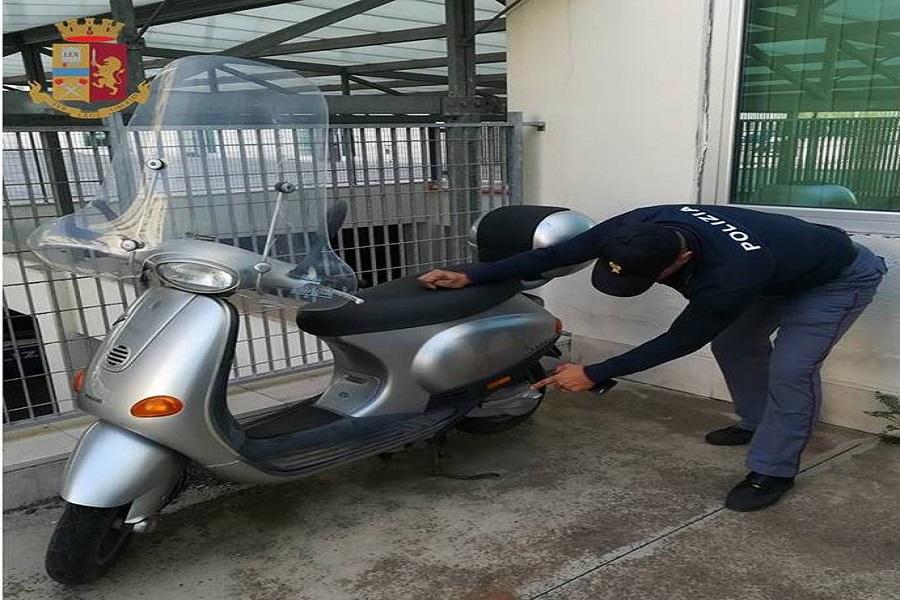 Deposito di moto rubate alla Bestat