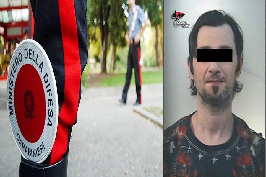 Agli arresti domiciliari prende un autobus per Taranto: in manette un 37enne