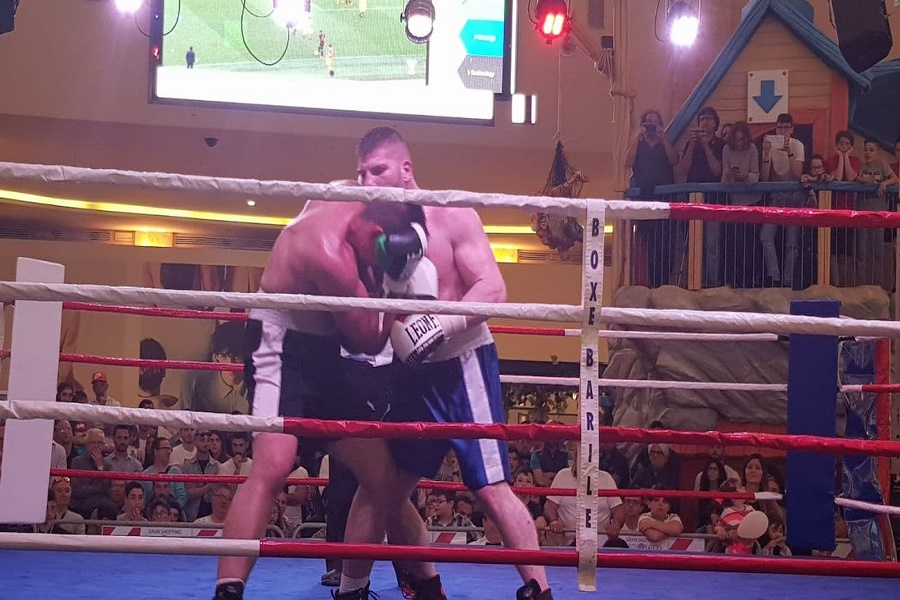 Boxe: a Giovinazzo il terzo match