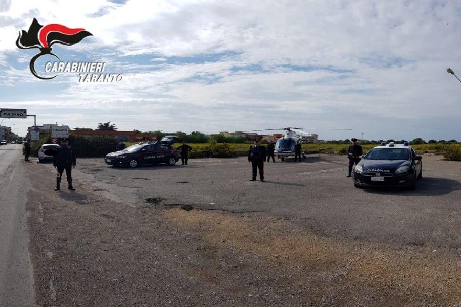 Due arresti e sei denunce: l'esito dell'attività di controllo dei Carabinieri di Manduria