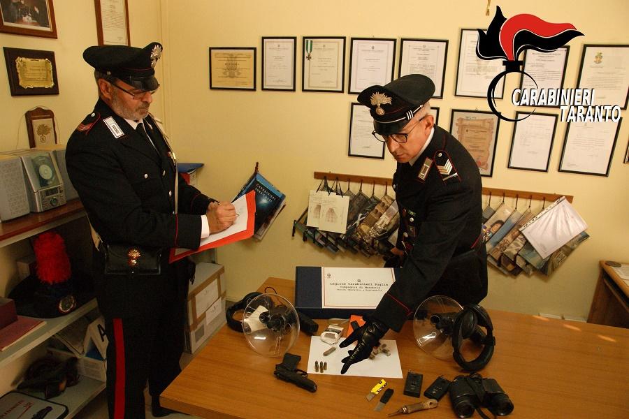 Controlli nella provincia di Taranto: un arresto e due denunce