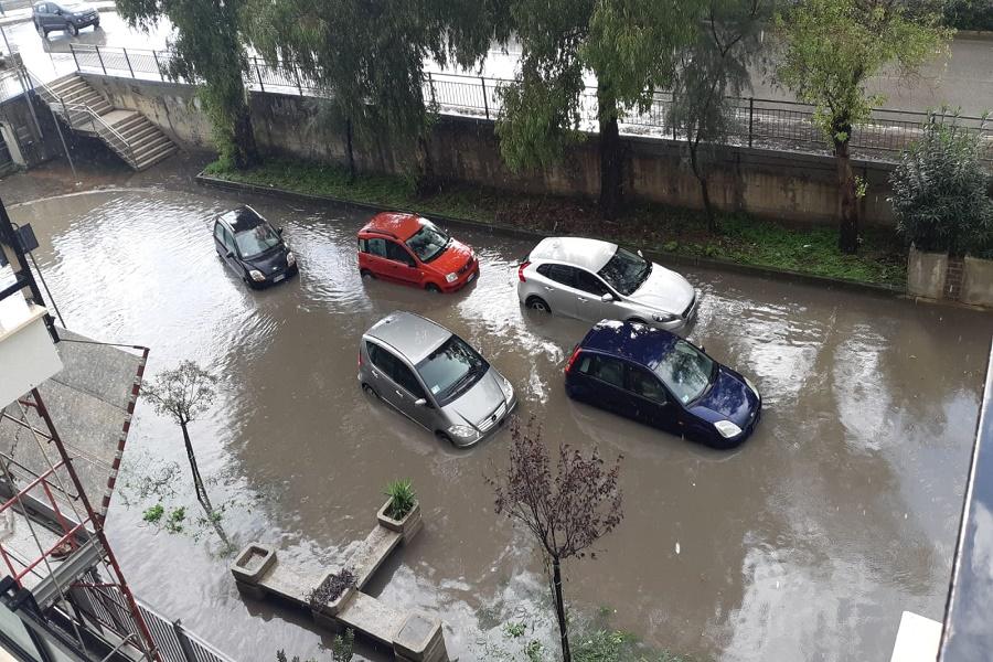 """Sebastio, (Verdi Taranto): """"La città affoga sotto la pioggia"""""""