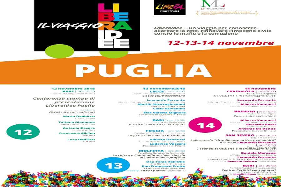 Rapporto nazionale sulla percezione e presenza delle mafie in Italia: al centro la Puglia