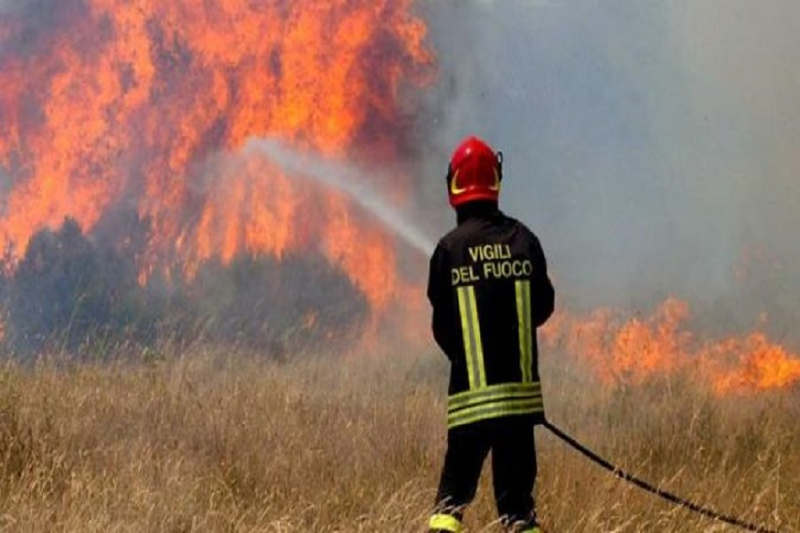 Redatto il primo catasto incendi