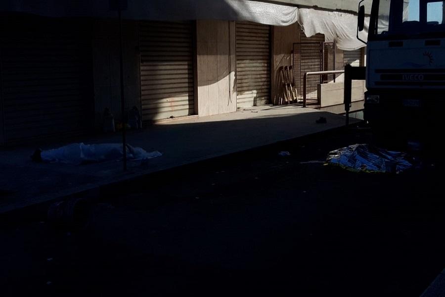 """Morti operai quartiere Tamburi, Cgil, Cisl e Uil: """"Necessaria sicurezza e rispetto regole"""""""