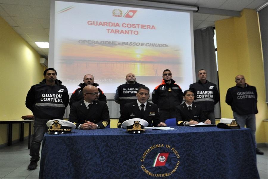 Maxioperazione della Guardia Costiera