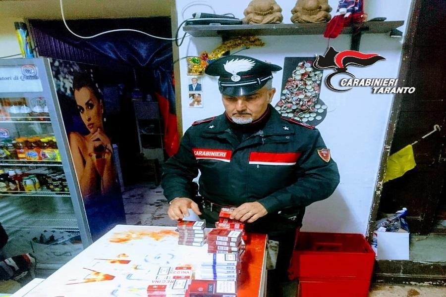 Sei kg di sigarette di contrabbando in circoli privati