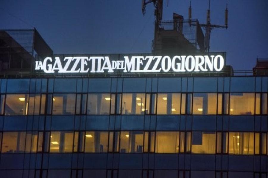 """Confiscati beni all'editore della Gazzetta del Mezzogiorno: """"Mattarella ci aiuti"""""""