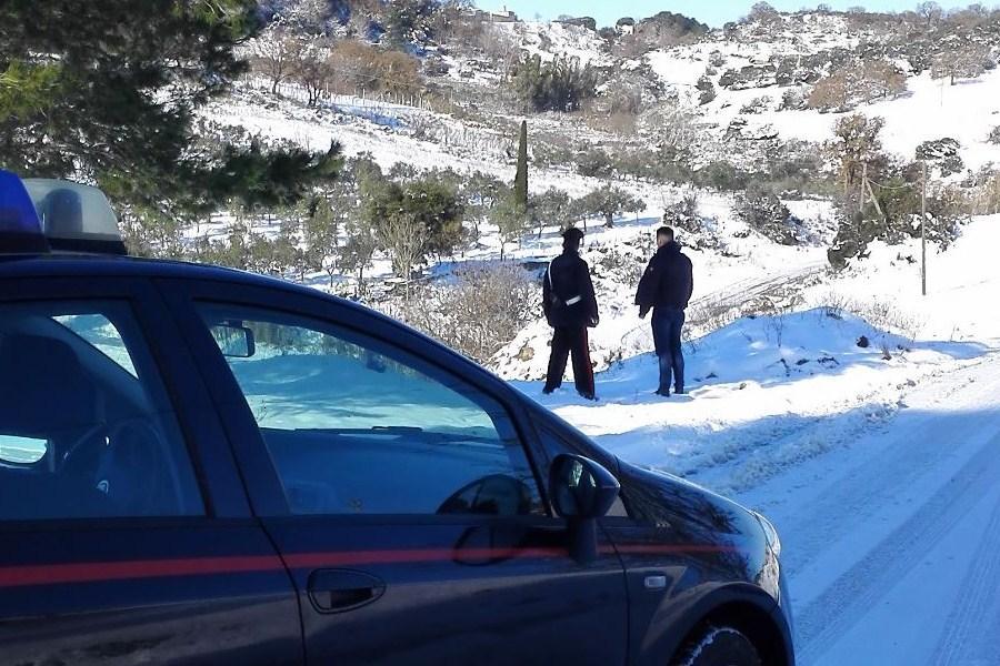 Bimbo disabile tratto in salvo da Carabiniere