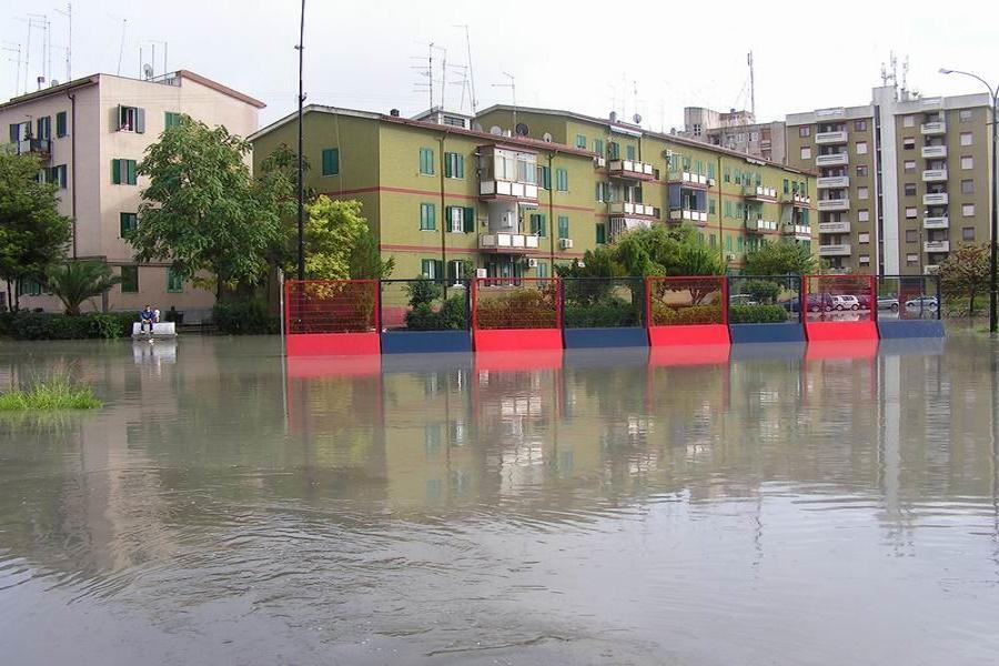 Quartiere Salinella a rischio idrogeologico: il Comune rinvia i lavori