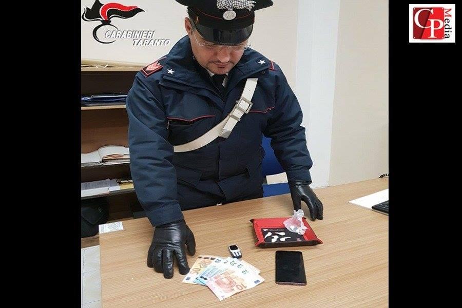 Nascondevano cocaina: arrestati due tarantini