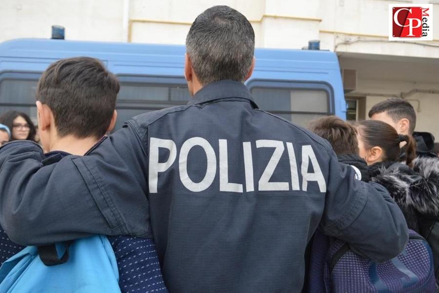 La Polizia incontra gli allievi di judo