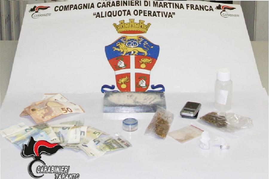 Droga. Due arresti a Martina Franca