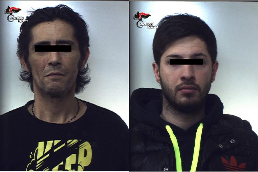 Manduria, rubano soldi e carte di credito: arrestate tre persone