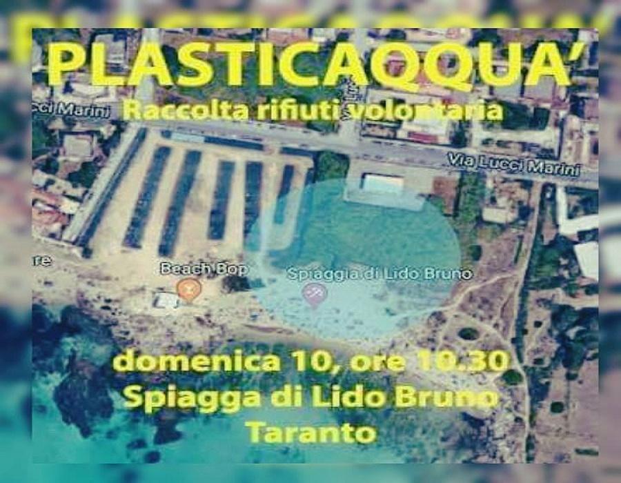 Plasticaqquà: insieme per ripulire le spiagge di Taranto