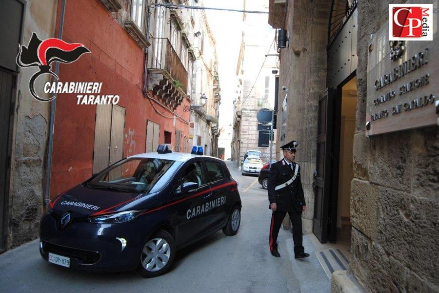 L'auto elettrica per i Carabinieri dell'isola