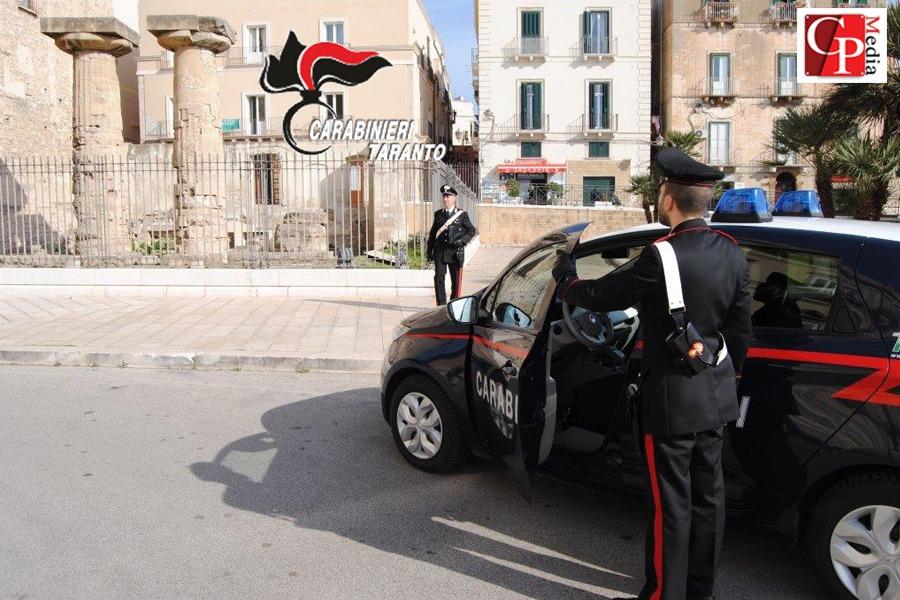 Taranto, controllo del territorio: contrasto criminalità