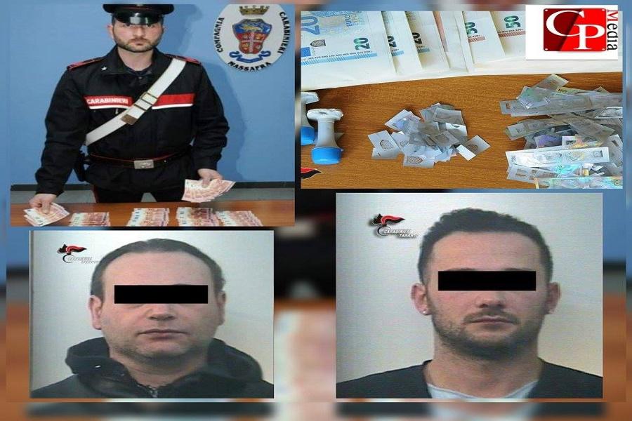 Falsificavano banconote per smerciarle: arrestate tre persone