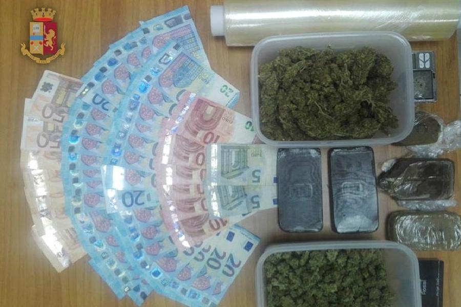 Sequestrato mezzo chilo di droga