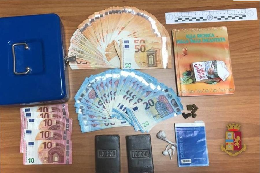 Hashish e cocaina: arrestato pregiudicato